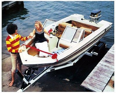1979 Larson Manta 4500 Outboard Power Boat Factory Photo ud3772