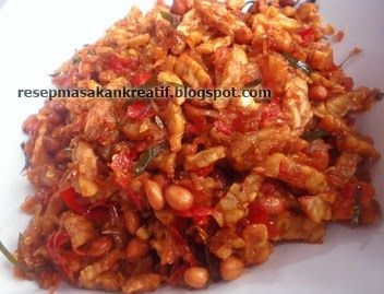 Resep Kering Tempe Kacang | Resep Masakan Indonesia (Indonesian Food Recipes)