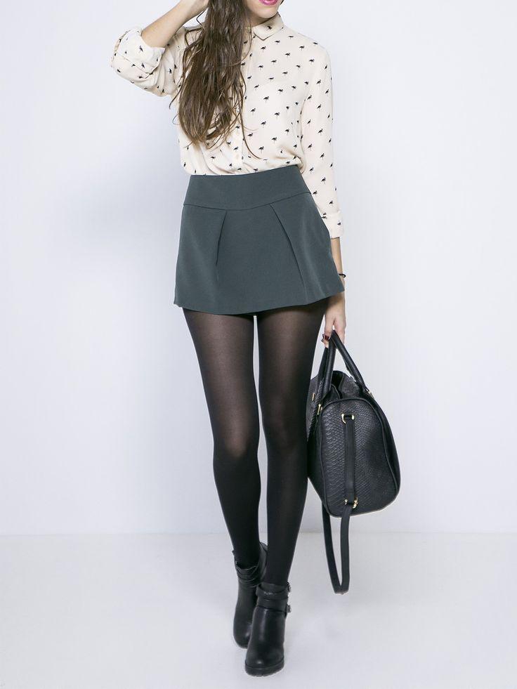 Vêtement mode chic femme accessoire tendance. Chemisier manches longues à  imprimé. www.milena