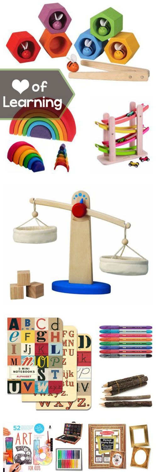"{non-traditional gift suggestions + tons of adorable ""under the tree"" presents} *love that scale"