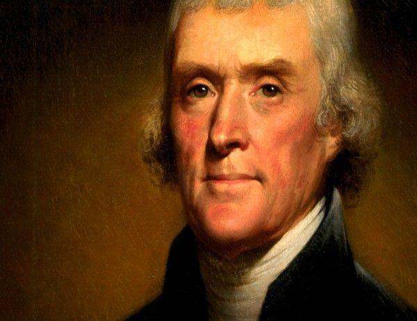 15 frases célebres de Thomas Jefferson
