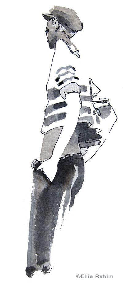 Ellie Rahim Illustration and Design: Sketch Night at Society of Illustrators