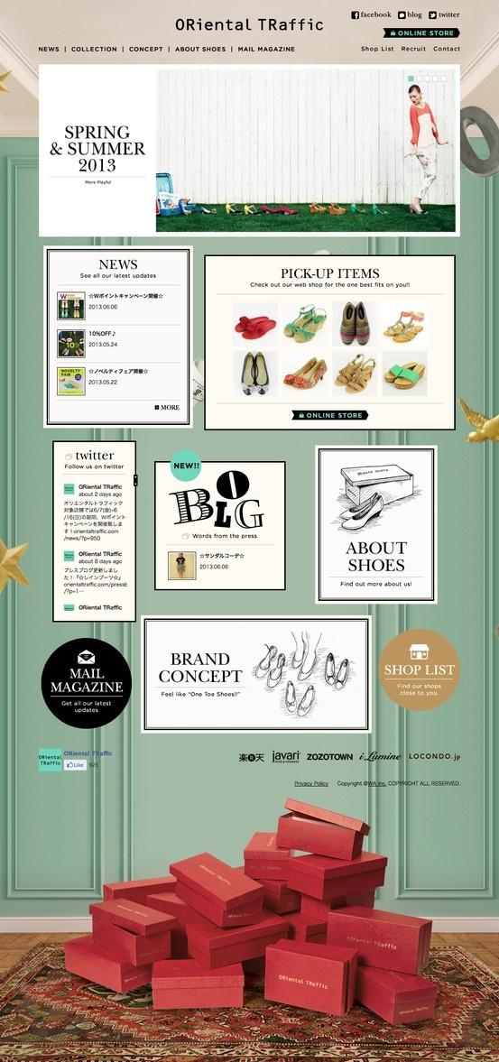 ORiental TRaffic official website http://www.orientaltraffic.com/ #EC #fashion