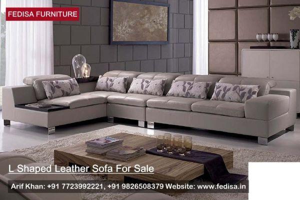L Shape Sofa Set, L Shaped Sofa, Small Leather Sofa | Fedisa ...