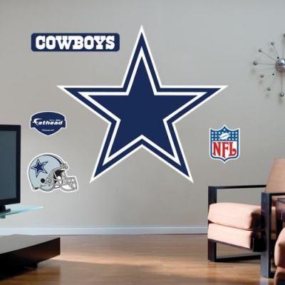 dallas cowboys themed wedding ideas | Dallas Cowboys Star Wall Sticker « Decals and Skins