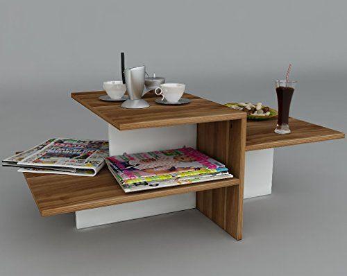 Die besten 25+ Couchtisch nussbaum Ideen auf Pinterest Surface - designer couchtisch wohnzimmertisch