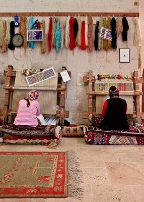 carpet shop in Goreme. I've been there!!