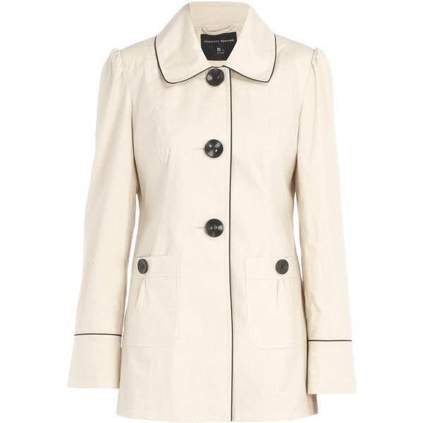 Coats & Jackets - Clothing - Dorothy Perkins ($79) ❤ liked on Polyvore