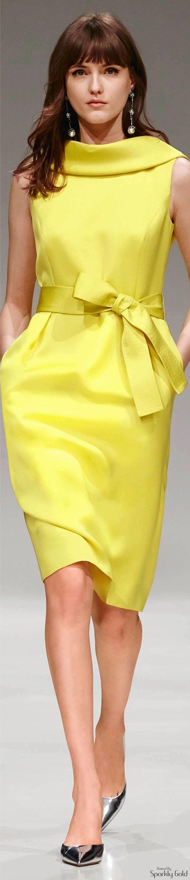Escada ~ Resort yellow dress 2017 Seo VYO http://www.seovyo.com/tr/site-ici-on-page-seo-nedir-site-ici-seo-teknikleri-nelerdir/