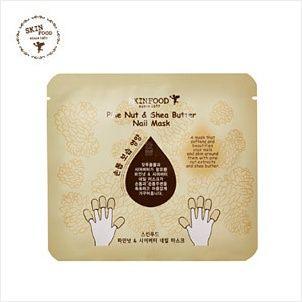 Korean [SKINFOOD] Pine Nuts&Shea Butter Nail Mask 7.5g*2「koreabuys.com」