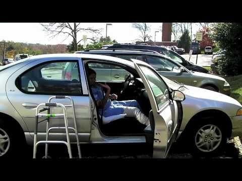 [VIDEO] How to get in the car while following posterior hip precautions, after total hip replacement surgery.  Produced and edited by Betsy Casano, PT.