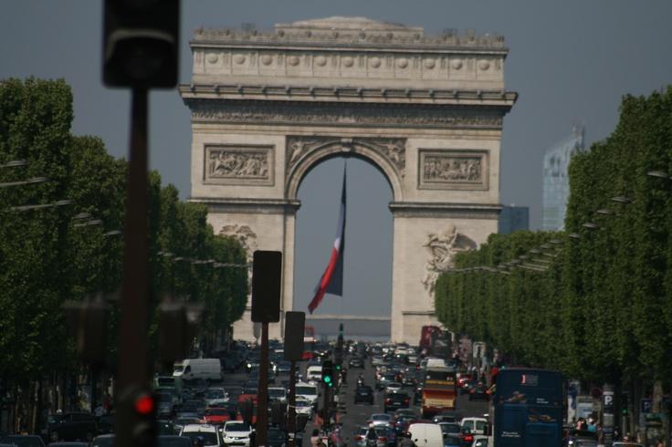 Arc de Triomphe, Paris, France, Original.