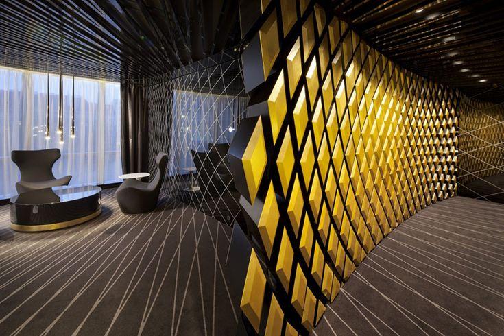 Interior Design and Architectural Plan of a Modern Bank | Founterior