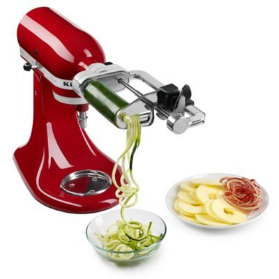 KitchenAid® Spiralizer with Peel, Core, and Slice Stand Mixer Attachment - BedBathandBeyond.com