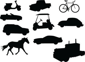 Transportation Silhouettes: Transportation Silhouettes, Digital Images Silhouettes, Svgs, Vinyls Projects Silhouette