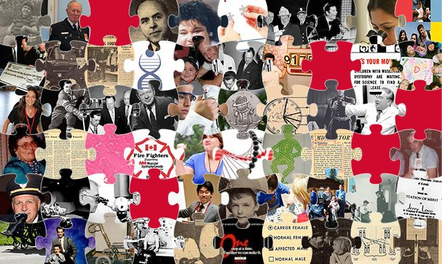 The puzzle is almost complete!   Check out the new stories on the 60 Years of Progress puzzle and learn more about Fire Fighter Rick Mills, a breakthrough for SMA, + more!