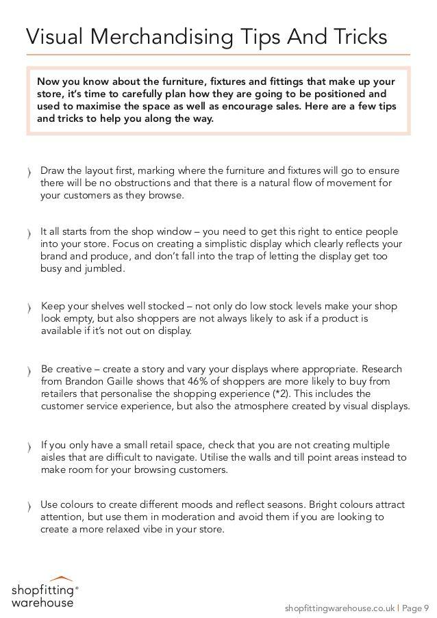 Visual Merchandising Tips & Tricks