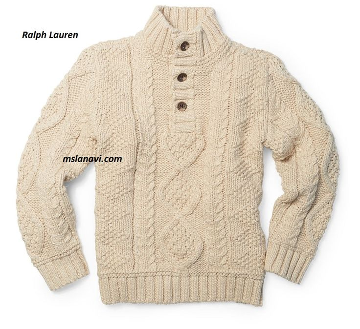 Детский свитер спицами от Ralph Lauren - СХЕМА http://mslanavi.com/2016/12/detskij-sviter-spicami-ot-ralph-lauren/