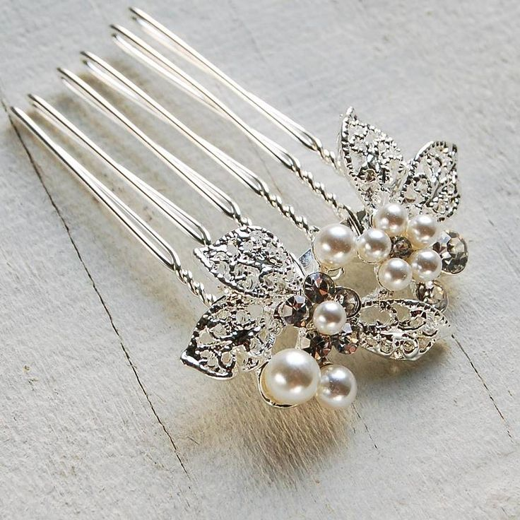 leaf cluster hair comb by highland angel | notonthehighstreet.com