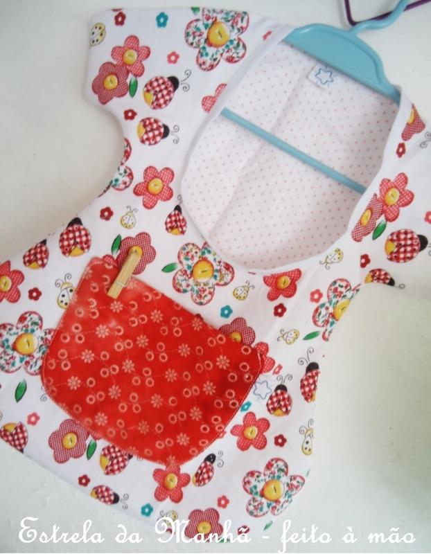 #sewing #bag #chothespin Bag for storing clothespin (porta prendedor de roupas)