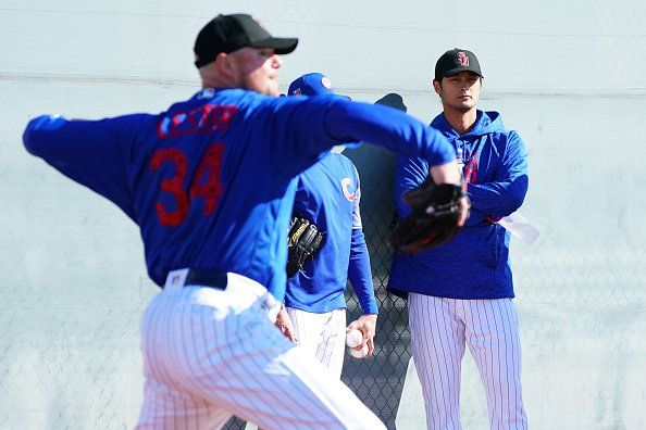 Cubs announce 2018 pitching rotation ahead of Yu Darvishs Spring Training debut