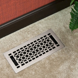 Honeycomb Floor Register With Louvers 2 1 4 Quot X 10 Quot 3 1
