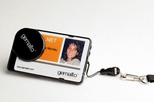 Gemalto Smart Badge Holder