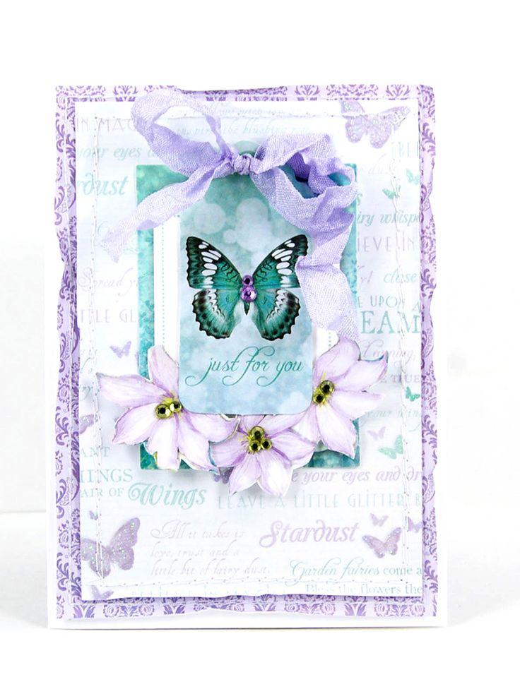 Fairy Dust card by Alena Grinchuk