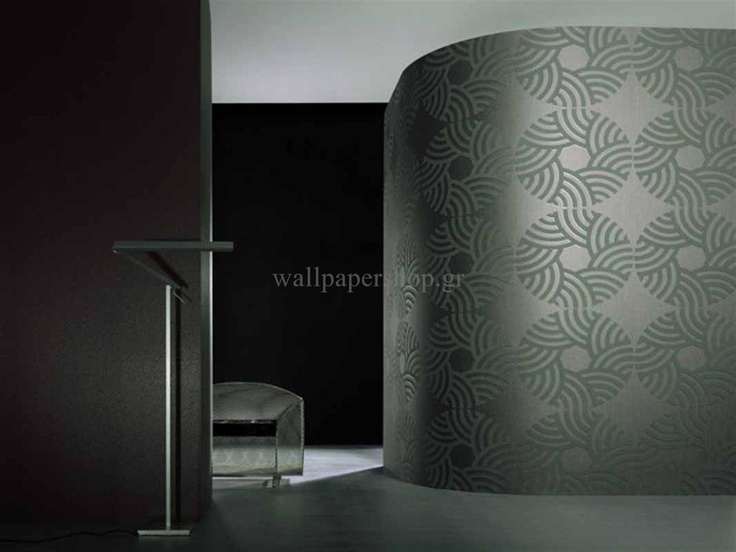 Wallpapers :: Modern :: Ulf Moritz Charisma Grey No 1616 - WallpaperShop