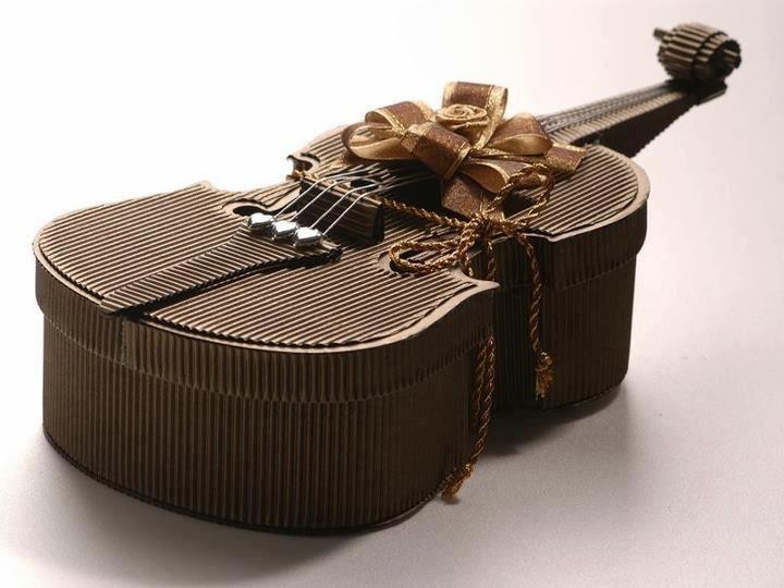 Chocolate Violin Sculpture                                                                                                                                                                                 More