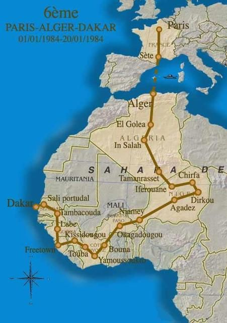 The DAKAR began in 1978 from Paris to Dakar, but due to security threats in Mauritania, which led to the cancellation of the 2008 rally, the 2009 Dakar Rally was run in South America (Argentina and Chile). It has been held in South America each year since