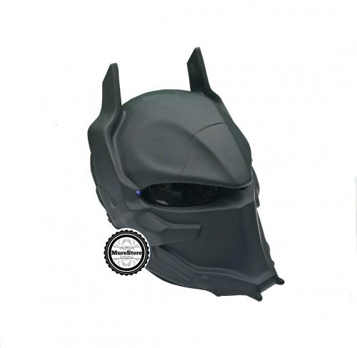 AWESOME ARKHAM HELMET STREET FIGHTER MOTORCYCLE DOT APPROVED