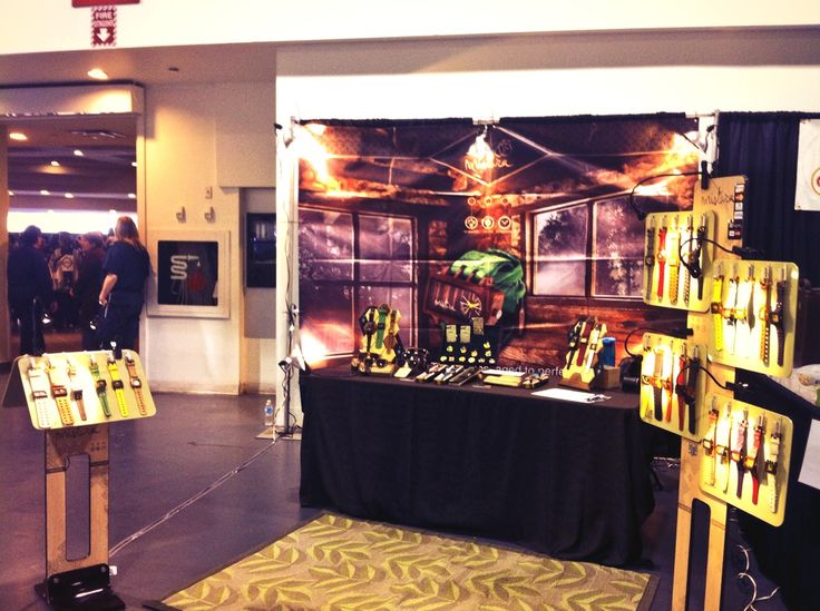 Made by Hand show at the International Centre, Mississauga. We scored prime real estate, right beside the entrance!