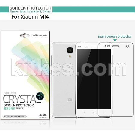 Nillkin Crystal Clear Screen Guard Xiaomi Mi4 - Rp 50.000 - kitkes.com