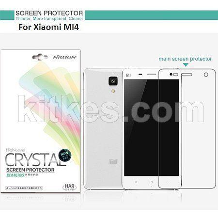 Nillkin Crystal Clear Screen Guard Xiaomi Mi4 - Rp 50.000 - kitkes.com