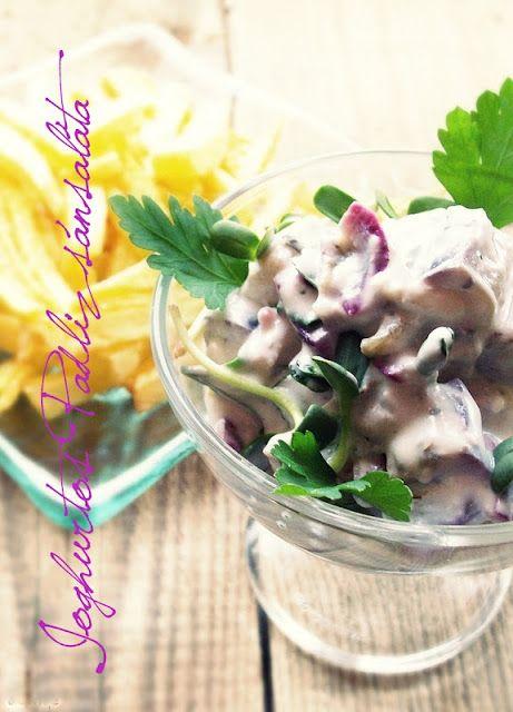 Szellem a fazékban: Joghurtos-fetás padlizsánsaláta