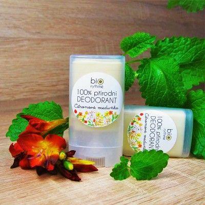 100% přírodní deodorant Citronová meduňka (malý)