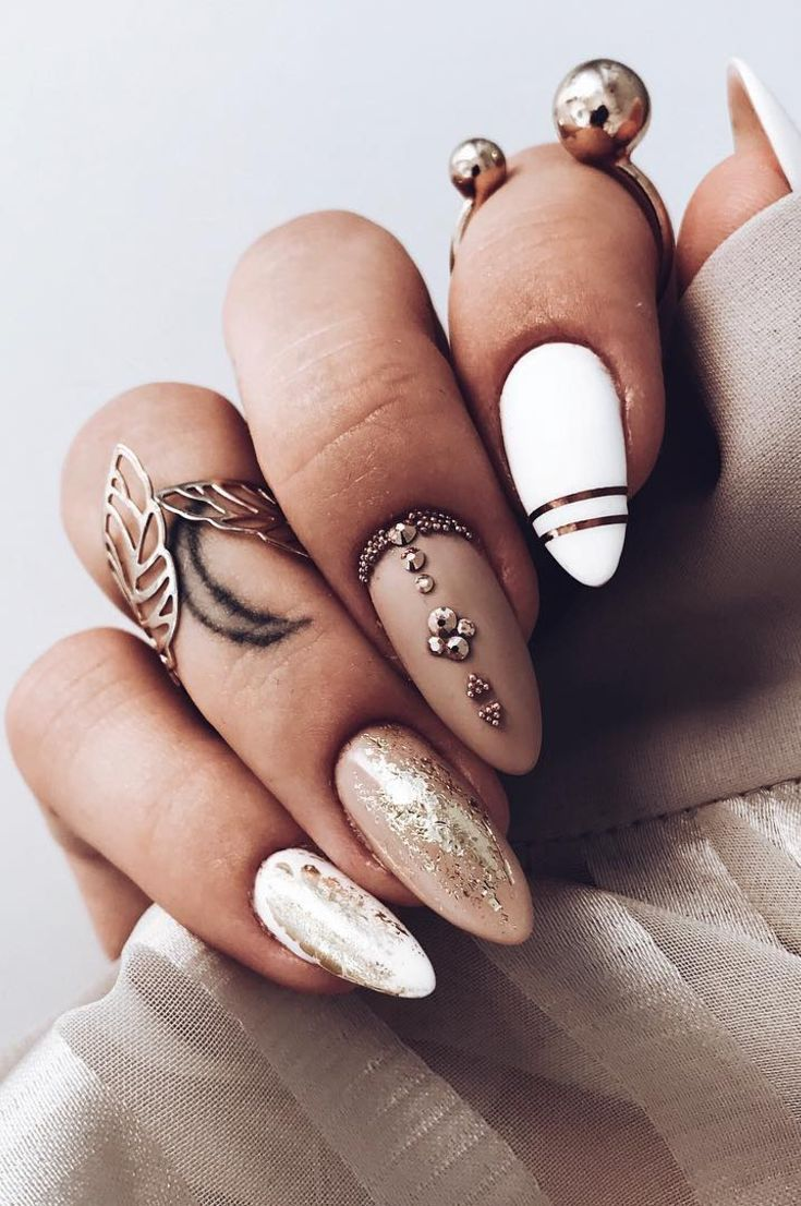 50 Most Beautiful Winter Nail Designs Shrinking To Your