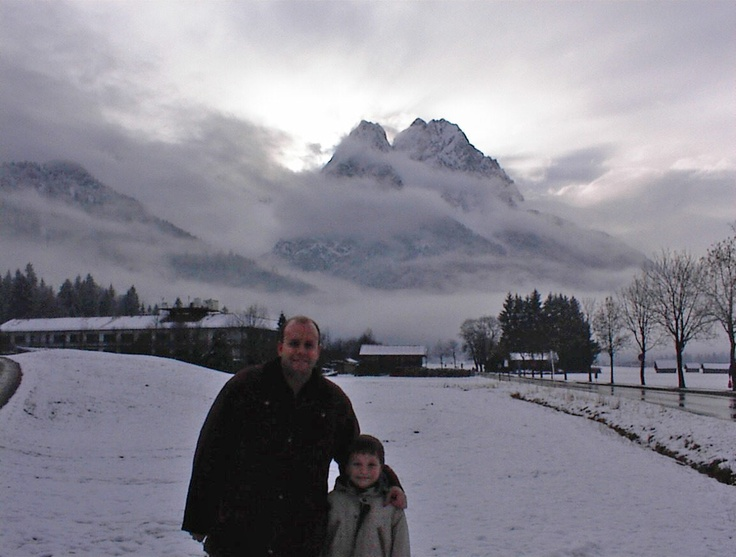 Beautiful landscape.  Mikey was just 8 at the time.