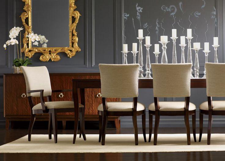 Heston Buffet, chic chairs