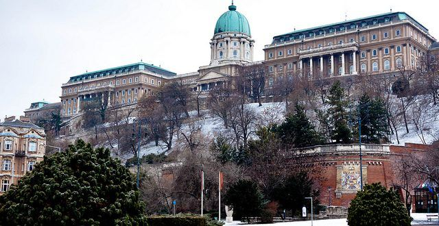 Christmas in Buda Castle Budapest