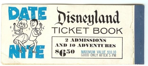 "$6.50 for admission for two?! Today, that'd be equivalent of about $50 or $60, which is still a bargain. Today, a 1-day ticket to Disneyland costs $92. | Disneyland's ""Date Nite"" Of The '50s Will Make You Wish You Had A Time Machine"