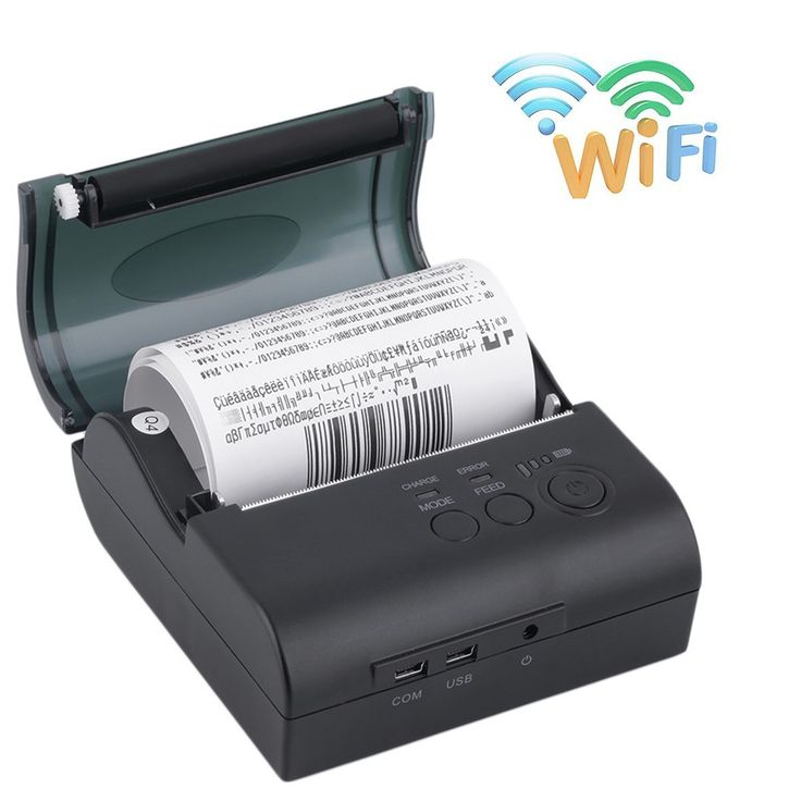 (139.00$)  Watch now  - 2016 Upgrade high quality 80mm Wireless Wifi Thermal Receipt Printer Protable WIFI printer for Windows Android IOS Smartphone