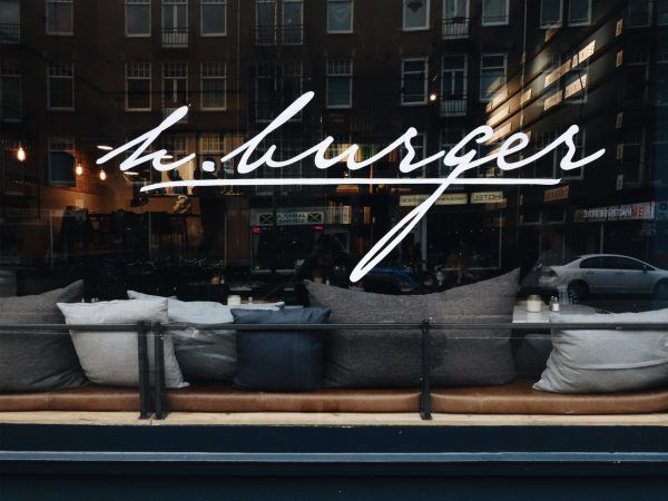 Great hamburgers in Amsterdam West!