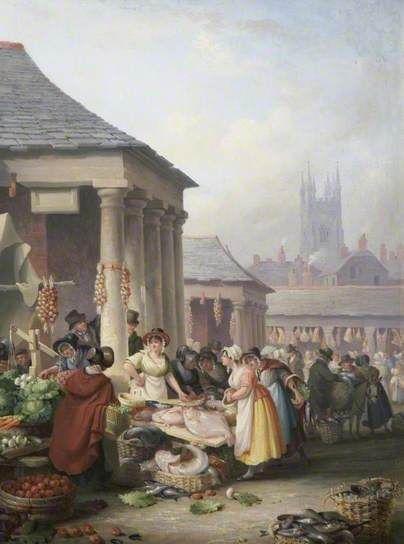 Nicholas Condy. Plymouth fish market. The Parade #SuttonHarbour #PlymouthFishMarket