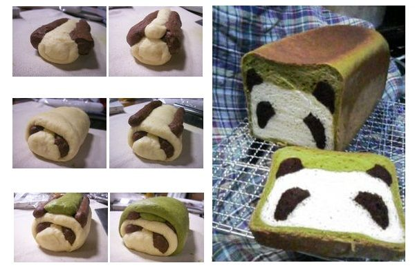 @Jamie Wise Chapman , @Sarah Chintomby Callaway   Panda Bread – Idea For The Kitchen  I think you could 'alter' this to make a Mickey Mouse one too... would be same concept with Cookie dough :)