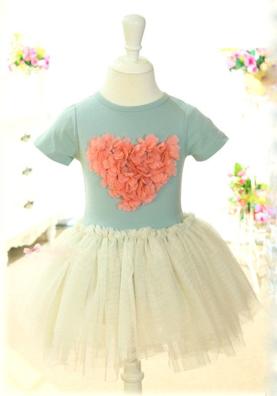 Lily dress - Blue — Affordable funky clothes for girls and boys and cool kids accessories.