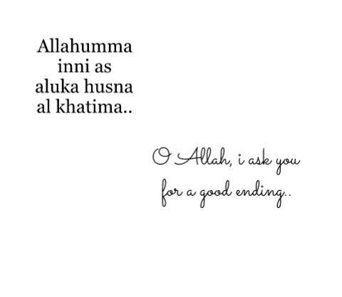 Allahuma Ameen.