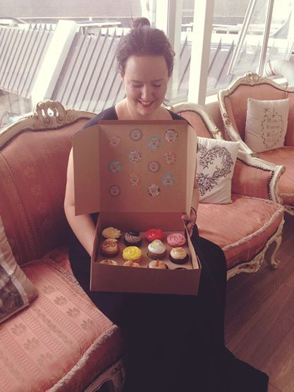 The Hair Boutique & their lovely cupcakes - For Cup's Cake New Zealand. http://www.forcupscake.co.nz