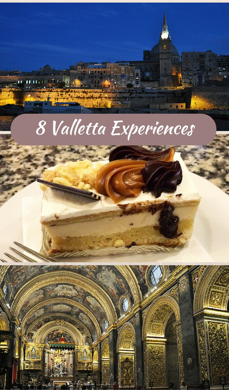 Malta: 8 experiences to have in the capital, Valletta. Malta's capital Valletta is a UNESCO World Heritage Site and is easily explored on foot. The eight experiences that follow are chosen to give an overall feel for the city and its legacy.